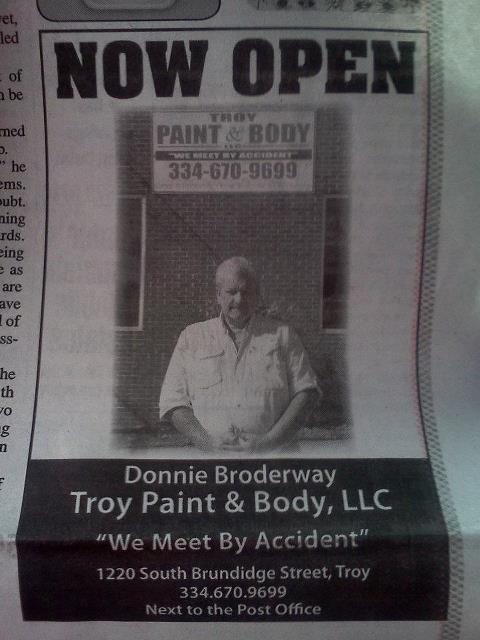 Troy Paint and Body LLC